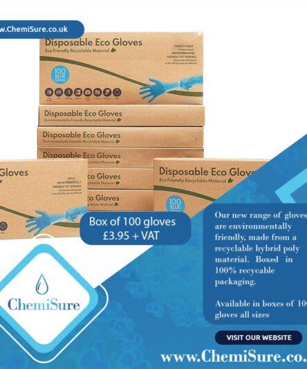 Box of 100 gloves – £3.95 + vat